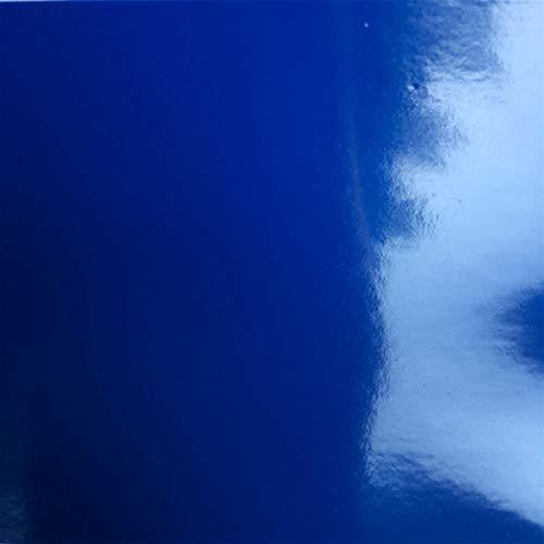 NYSCJJJ Motorrad Aufkleber Wrap Vinylkleber Super Glossy Klavier Schwarz Film mit Luftblase Freisetzung Autodachhaube Aufkleber (Color : Deep Blue, Size : 30cmx152cm)