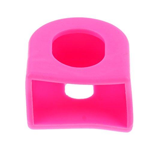 Homyl de Cubierta Protectora de MTB Brazo de Bicicleta Tamaño Aprox 1.5 x 1.5cm Color Rosado