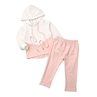 Trainingsanzug Baby Mädchen Hooded