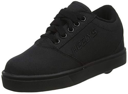 Heelys Pro 20, Zapatos con Ruedas, Triple Negro, 35 EU