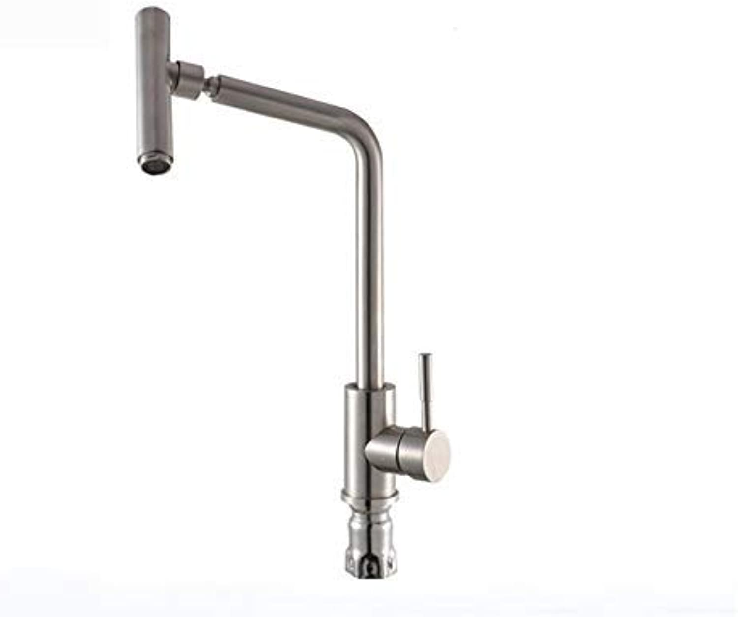 Oudan Taps 304 Stainless Steel Kitchen Faucet Sink Faucet (color   -, Size   -)