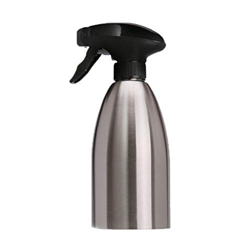 Liqiqi Ölspender aus Stahl mit großer Kapazität Spray – tragbar Oil Bottle Konzentrationsflaschen zum Kochen • Wiederverwendbar Flasche
