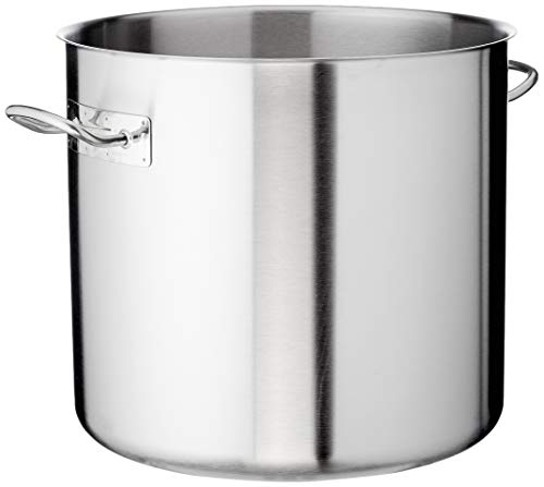 Lacor 8414271039836 Olla con Tapa, 45 cm, Stainless Steel