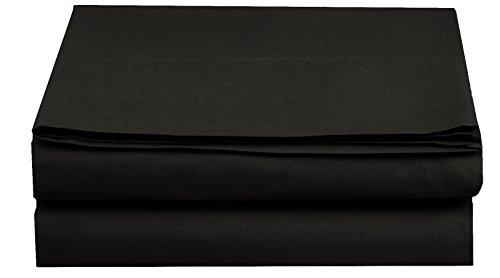 sábana negra de la marca Elegant Comfort