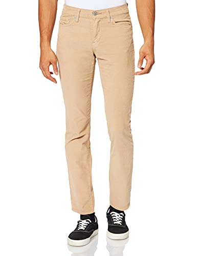 Levi's 511 Slim Fit Jeans, Haystack S 14w Cord GD, 32W / 34L Homme