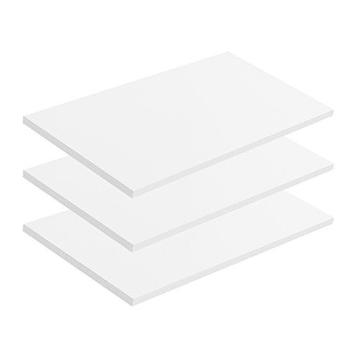 mokebo® Einlegeböden 'Die Einleger Mehrzweckschrank, Aktenschrank, Made in Germany, klimaneutraler Versand, 3er-Set