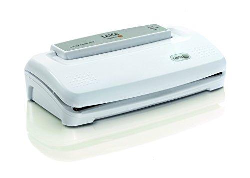 Máquina para envasado al vacío de alimentos Laica VT3108 capacidad de absorción 9 l/min, muy fácil de usar.