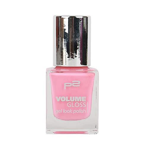 p2 cosmetics Nägel Gel Nagellack Volume Gloss Gel Look Polish 670