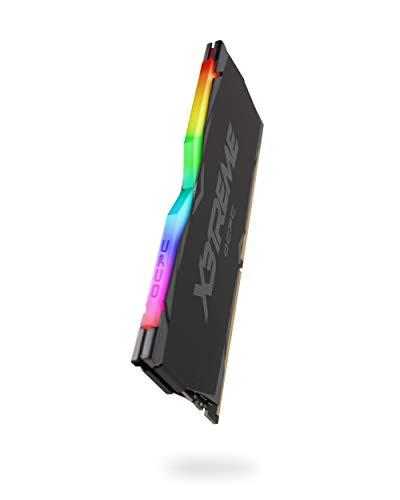 VisionTek OCPC X3TREME Aura RGB 16GB (8GBx2) DRAM DDR4 3000MHz RAM Memory Kit by VisionTek (Black)