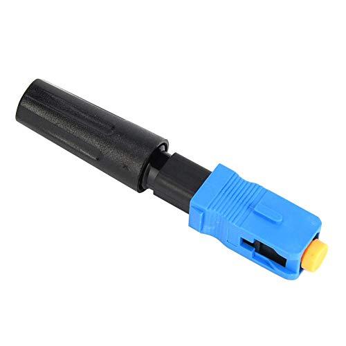 10 stuks SC/UPC snelkoppeling van vezels, snelle, optische stekker voor afstandsbedieningen met laag gebruik