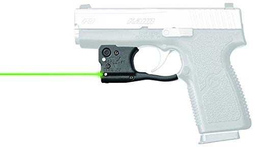 VIRIDIAN WEAPON TECHNOLOGIES, Reactor 5 Gen II Green Laser, Kahr Arms PM and CW 9/.40 with ECR Instant On IWB Holster, Black