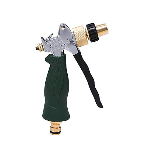 Pistola rociadora de manguera de ducha DealMux Gardena para césped, diseño antideslizante, pistola rociadora de manguera para jardín, múltiples modos