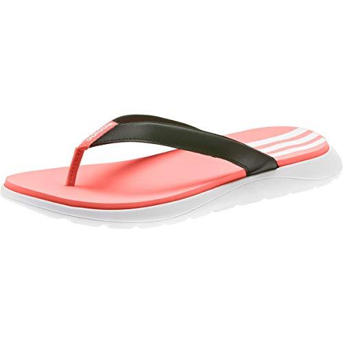 adidas Comfort, Chanclas Mujer, Cblack/Ftwwht/Sigcor, 39 1/3 EU
