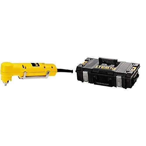DEWALT DW160V 3/8-Inch VSR Right Angle Drill with DEWALT DWST08201 Tough System Case, Small