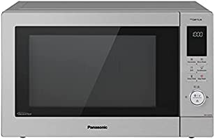 Panasonic 34L Convection oven,NN-CD87, Silver, with Healthy Air Fryer Menus, 1 Yr Warranty