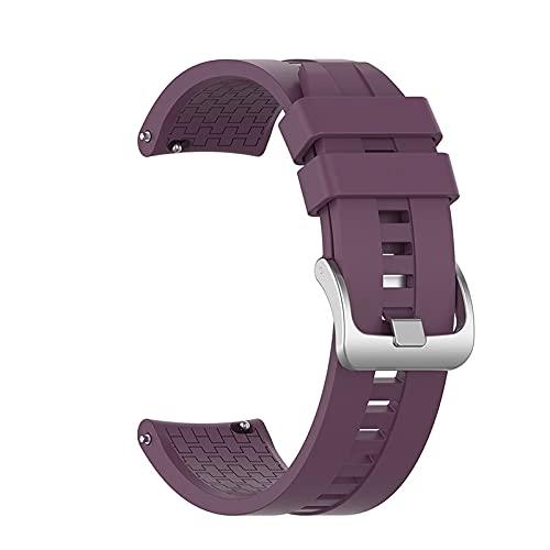 Pulsera reloj de reloj para Samsung Galaxy Watch 46mm Gear S3 (Band Color : V1(12), Size : 22MM)