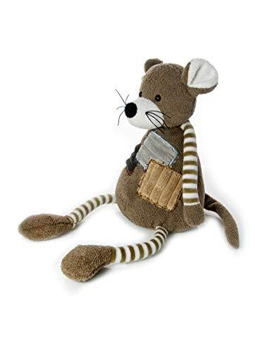 Mousehouse Gifts Ratón de Peluche de 30 cm con piernas y