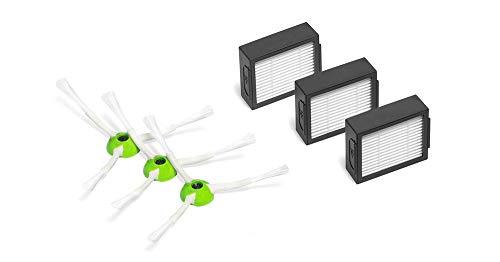 Hannets Kit d'accessoires de Haute qualité Compatible avec iRobot Roomba E et i-Série I i-Robot Roomba Aspirateur Robot I Roomba Accessoire Aspirateur Robot Accessoire Robot de Rechange N° i.0.3.3