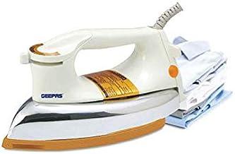 Geepas Dry Iron AC 220-240V,Silver - GDI23011