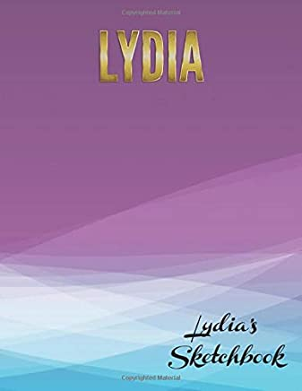 Lydias Sketchbook: Large textbook sized blank book for sketching, drawing, writing or simply scribbling and doodling.