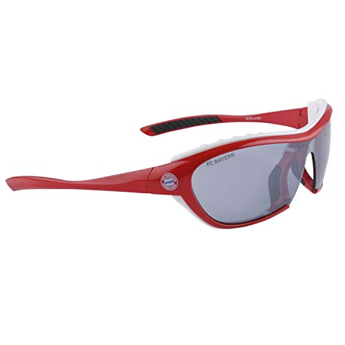 FC Bayern München FCB Brille | Sonnenbrille | Sportbrille | 12-99 Jahre| rot