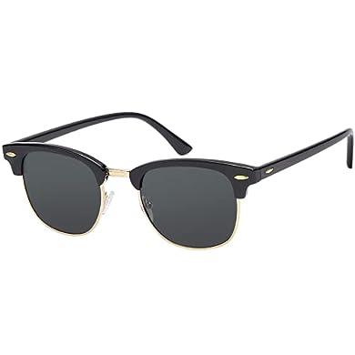 EFE Gafas de Sol Hombres Mujeres Polarizadas Polaroid Gafas Retro Diseñado Redondas Protección UV400 a buen precio