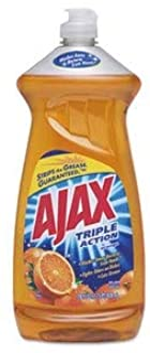 Ajax Dish Detergent, Liquid, Orange Scent, 28 Oz Bottle