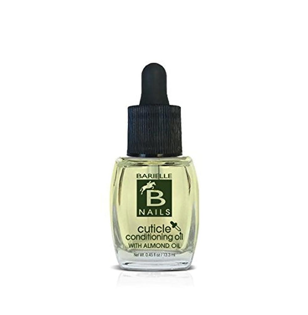 それつなぐ予防接種Barielle Nails - Cuticle Conditioning Oil with Almond Oil w/ Dropper - 13.3 mL / 0.45 oz