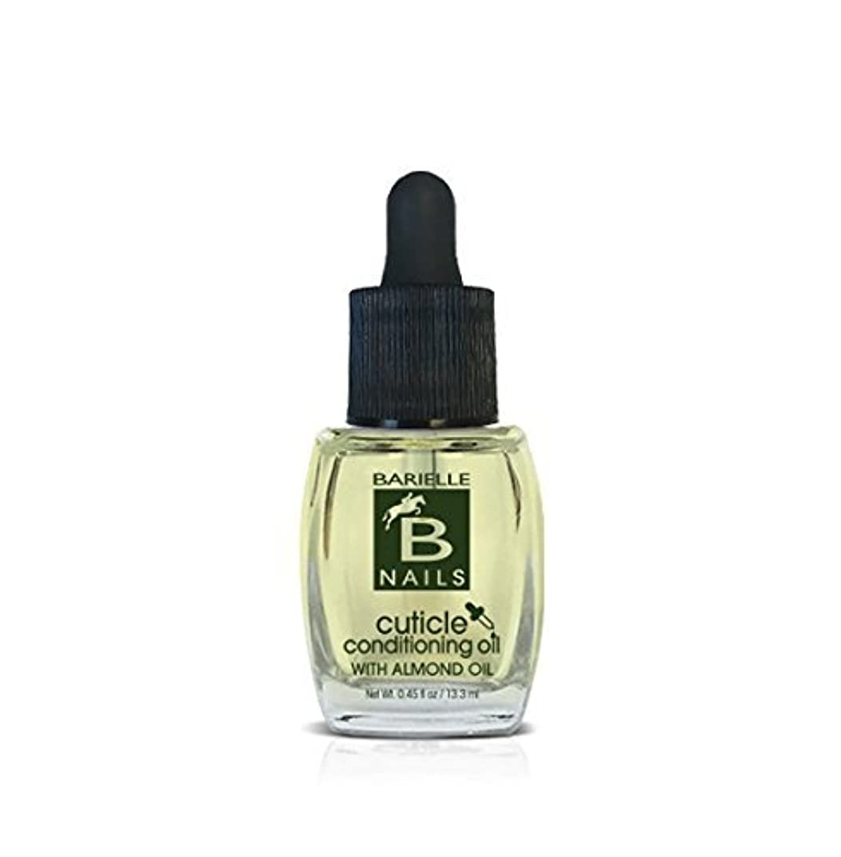 カメ哲学的ナチュラBarielle Nails - Cuticle Conditioning Oil with Almond Oil w/ Dropper - 13.3 mL / 0.45 oz