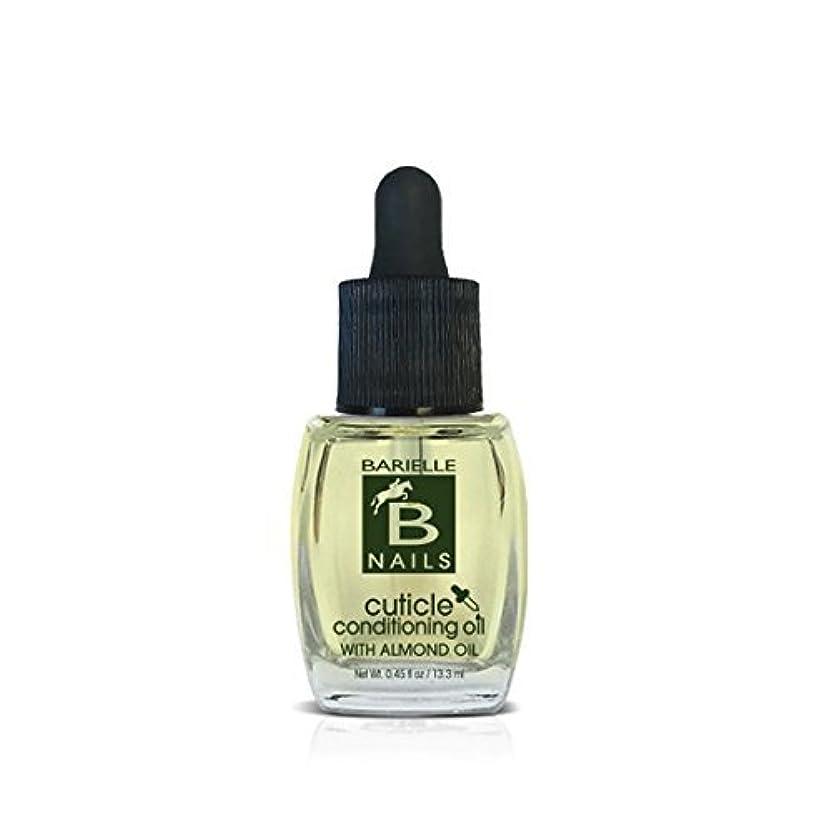 醸造所クロール一致Barielle Nails - Cuticle Conditioning Oil with Almond Oil w/ Dropper - 13.3 mL / 0.45 oz