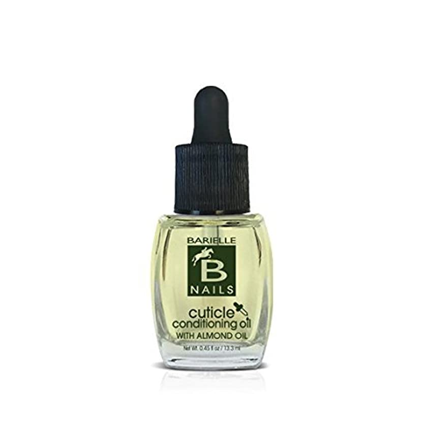 エージェント差し控える兵士Barielle Nails - Cuticle Conditioning Oil with Almond Oil w/ Dropper - 13.3 mL / 0.45 oz