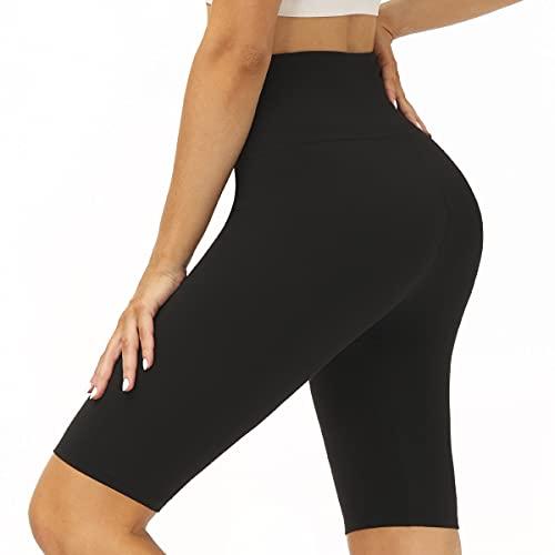 SIMIYA Yoga Shorts Womens Leggings High Waist Super Soft Comfort Slim Pants...