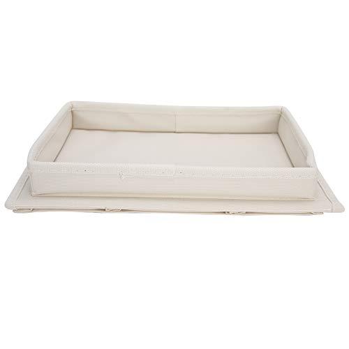 ZHHZ Bolsa de almacenamiento para sofá – 4 bolsillos sofá apoyabrazos TV Control remoto organizador sillón sofá bolsa con portavasos bandeja Beige