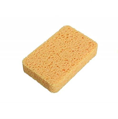 LINGP Esponja de Microfibra de Limpieza para Lavar Platos, Cocina, baño, eliminación de óxido, Borrador de Tela Limpia,EsponjaecológicaDIY