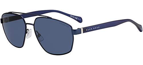 Hugo Boss Gafas de Sol BOSS 1118/S MATTE BLUE/BLUE 61/16/140 hombre