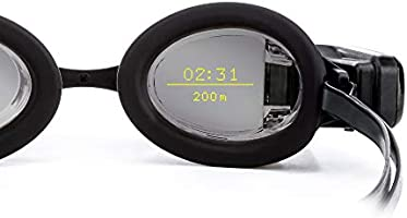 FORM Smart Swim Goggles, Fitness Tracker for Pool and Open Water with a See-Through Display that Shows your Metrics...