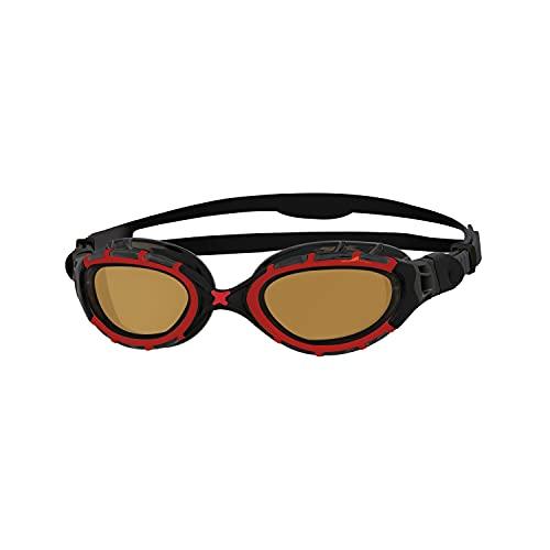 Zoggs Predator Flex Polarized Ultra-Regular Fit Gafas de natación, Adultos Unisex, Multicolor (Multicolor), Talla Única