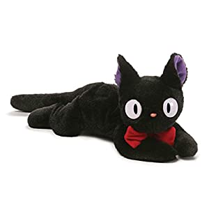GUND Kiki's Delivery Service Jiji Stuffed Animal Plush Beanbag, 15″