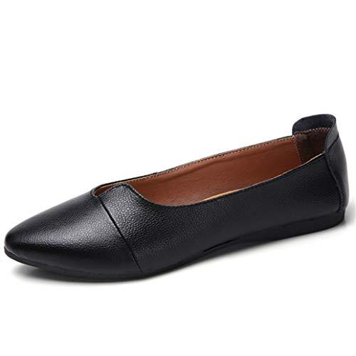Damesschoenen Voor één Persoon Puntschoen Ondiepe Mond Loafers Ademend Werk Mocassins Casual Effen Kleur Rijden Ballet Flats