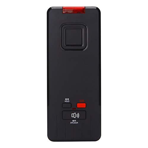 XAOBNIU Teléfono con Cable Teléfono Fijo SOS Llame al baño del Hotel Casa Club Montaje en Pared pequeña Extensión (Color : Black)