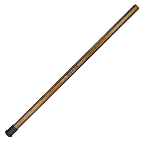 RipWood Dark Brown Solid Ash Wood Lacrosse Shaft/Stick/Handle (Made by Hand...