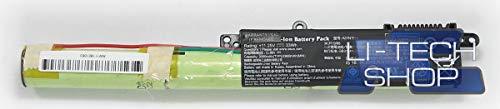 LI-TECH Batería Compatible 3000 mAh para ASUS VIVOBOOK K540LA-XX659T Negro Ordenador Nuevo