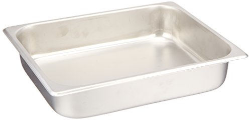 """Half Size Stainless Steel Chafing Pan 2 1/2"""""""
