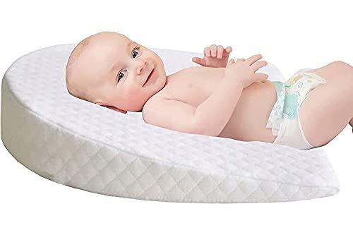 Almohada para bebé Plagiocefalia, extraíble, almohada ortopédica para bebé, para prevenir y tratar el síndrome de cabeza plana