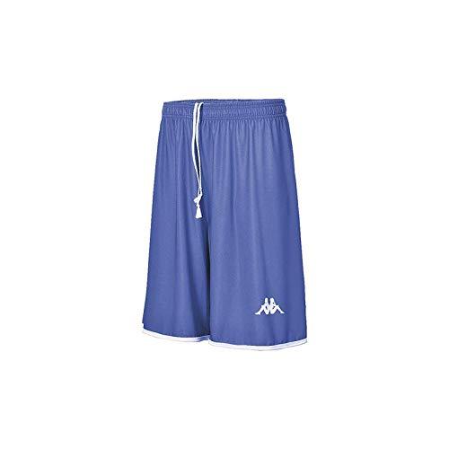 Kappa Opi Basket Short de Baloncesto, Hombre, Azul (Roy), 2XL