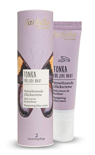 farfalla Tonka verwöhnende Glückscreme - für jede Haut - 100% zertifizierte Naturkosmetik, 30 ml
