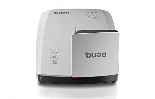 BenQ MW855UST Ultra-Kurzdistanz DLP-Projektor (WXGA, 1280 x 800 Pixel, 3.500 ANSI Lumen, HDMI, 10.000:1 Kontrast, 3D)