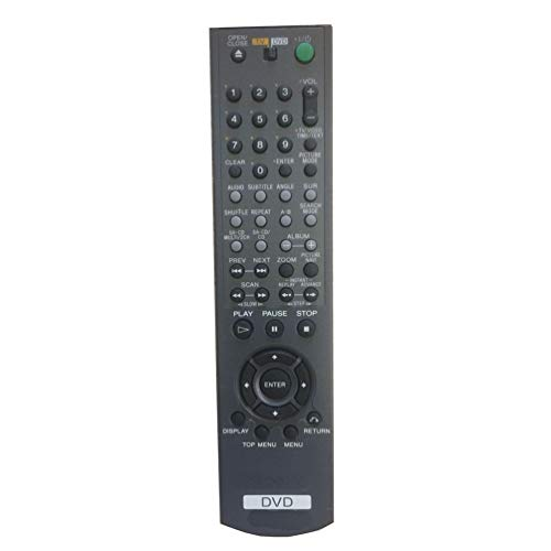 Sale!! Easy Replacement Remote Control Fit for Sony DVP-SR510H DVP-SR120 DVD Player