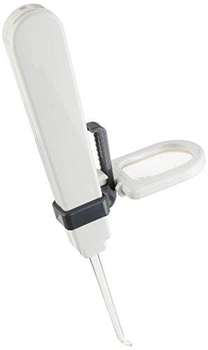 TSK 耳かき用ルーペ 倍率2倍 レンズ径18×26mm LEDライト付き 日本製 DO-810
