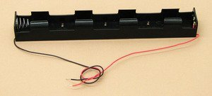 SEOH Four D Battery Holder with 12in Wire Leads